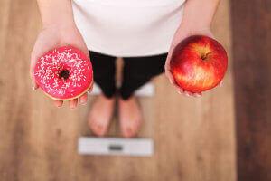 unikaj słodyczy